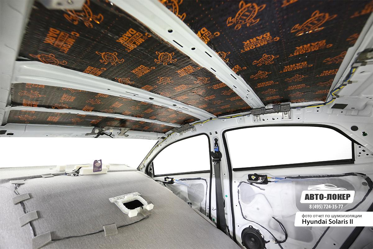 Шумоизоляция крыши авто своими руками 72