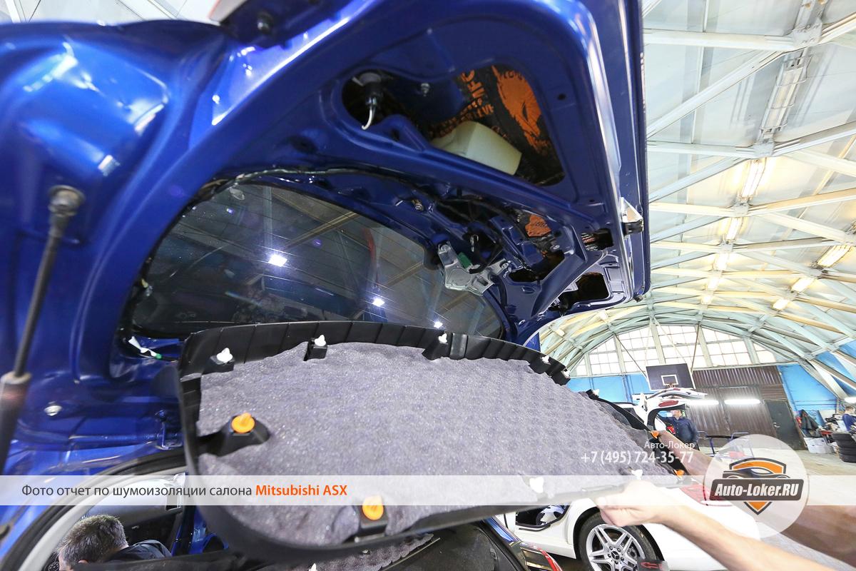 Шумоизоляция Mitsubishi ASX