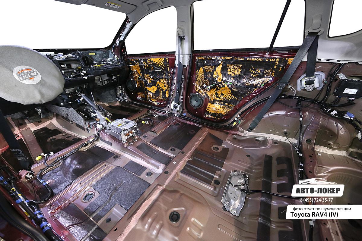 Шумоизоляция Toyota RAV4 IV