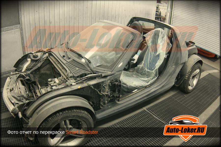 Фото отчет по покраске Smart Roadster c1ec1499a46